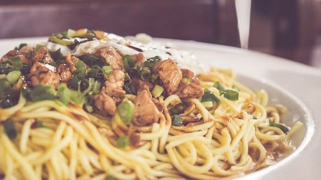 Start an Oriental food delivery